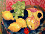 Still Life with Lemons 2 by David Arathoon